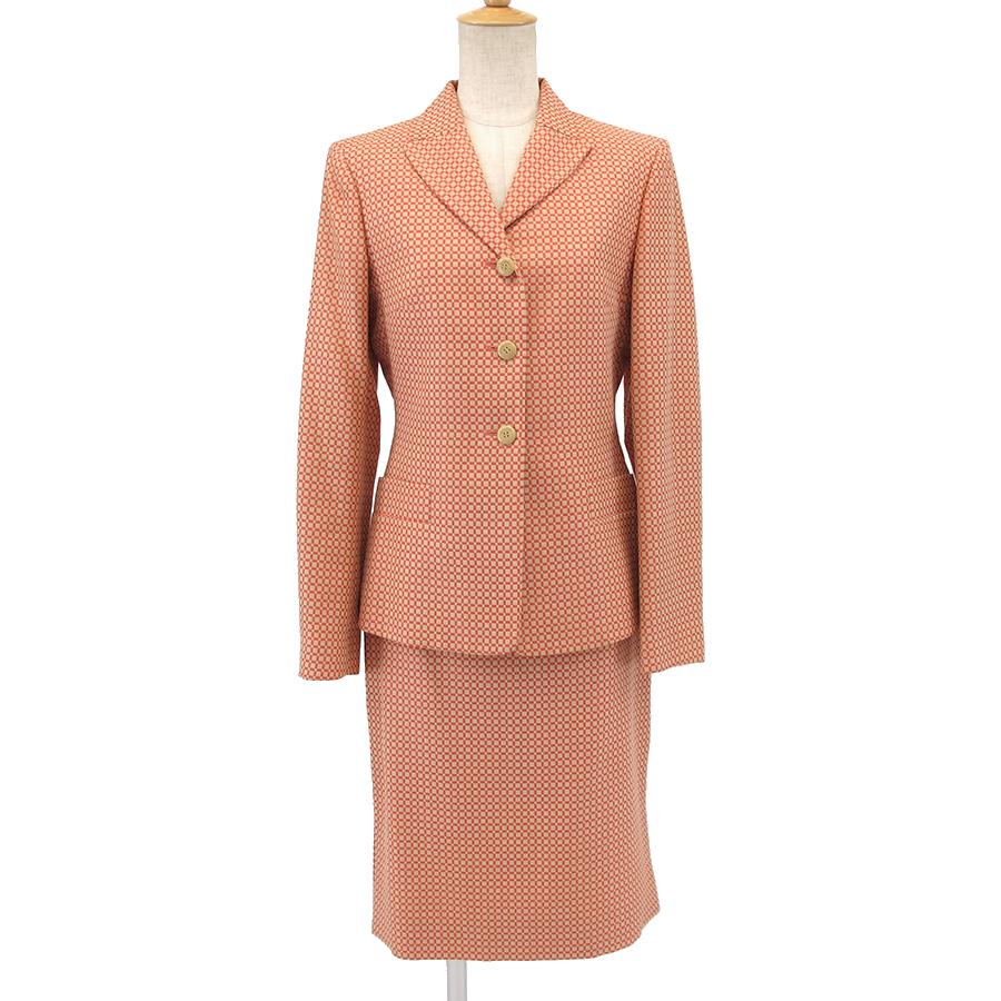 【Bランク】 スーツ 【中古】 フェラガモ