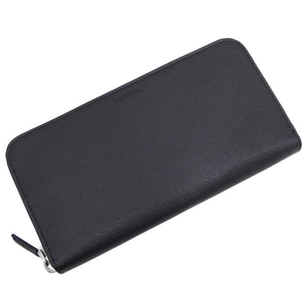 【送料無料】【中古】プラダ ラウンドファスナー財布 2ML317【Sランク】