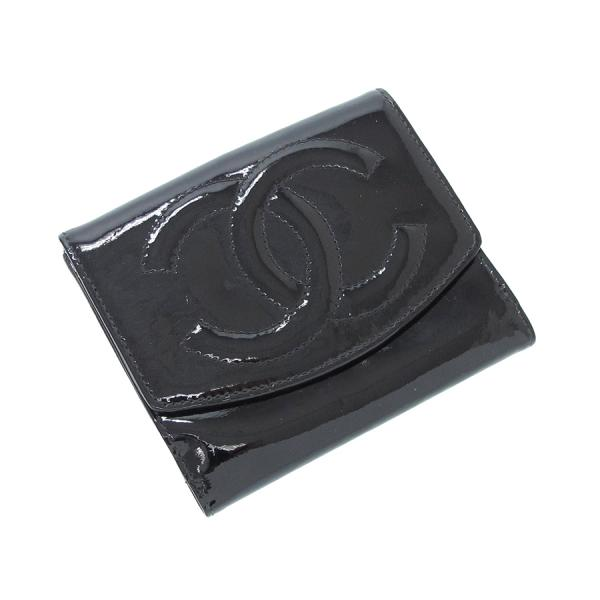 【送料無料】【中古】シャネル 両開き財布 【Bランク】