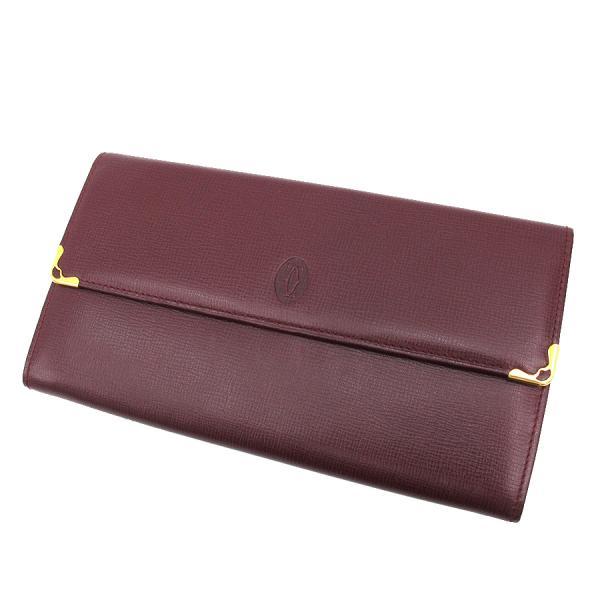 【送料無料】【中古】カルティエ 長財布 【Aランク】