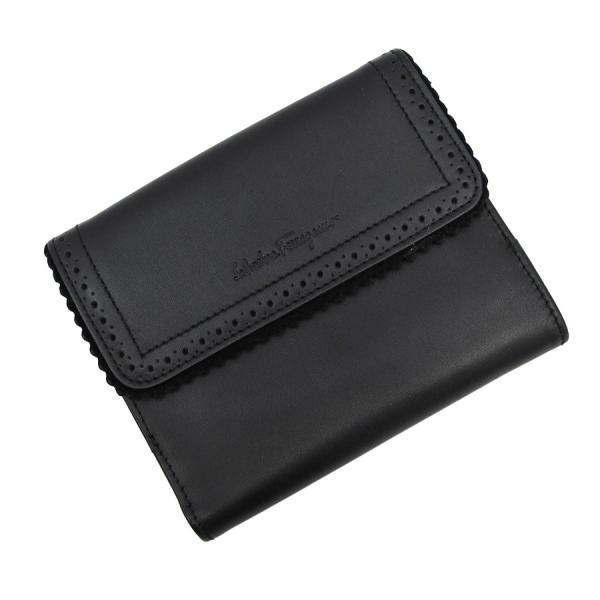 【送料無料】【中古】フェラガモ ダブルホック財布 【Bランク】