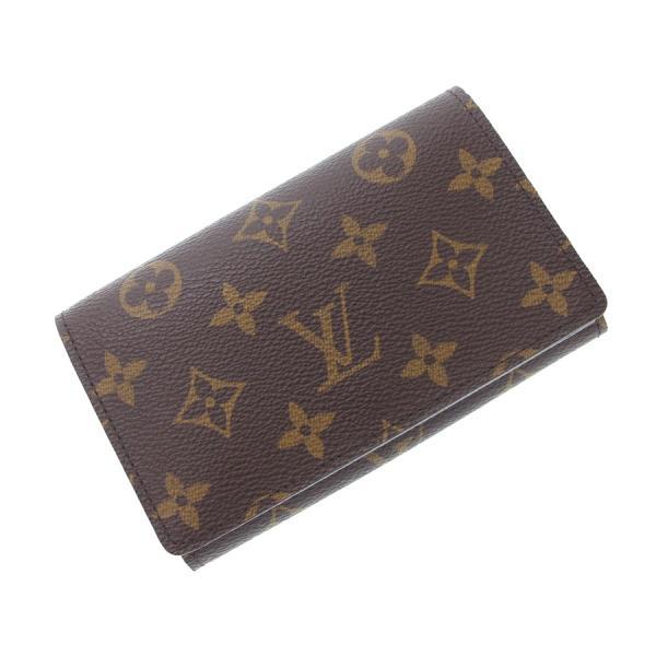 【送料無料】【中古】ルイヴィトン モノグラム ファスナー付財布14.5 M61730【Sランク】