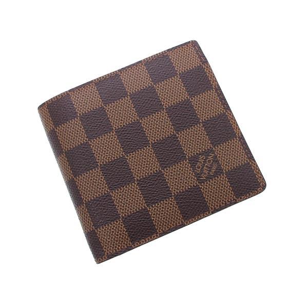 【送料無料】【中古】ルイヴィトン ダミエ カード用ポケット付財布 N61665【Bランク】