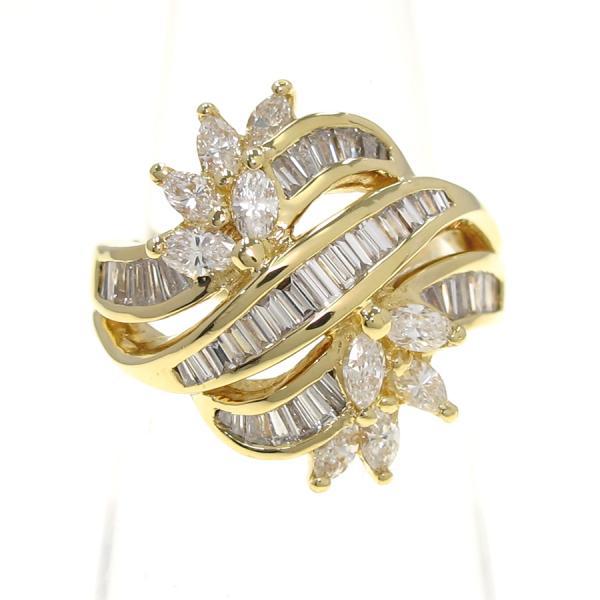 【中古】 K18ダイヤリング#12 【無料ギフトラッピング】【Aランク】