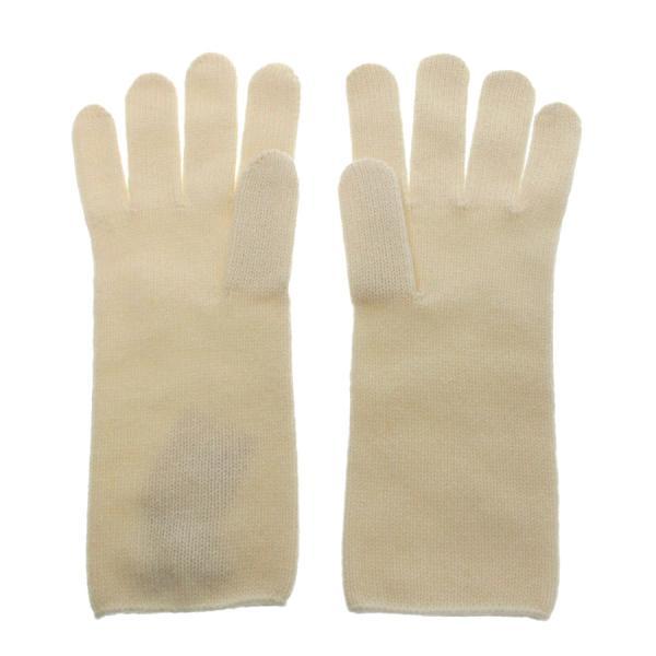 【送料無料】【中古】エルメス ニット手袋 【Aランク】