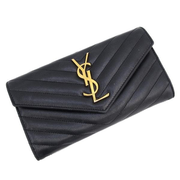 【送料無料】【中古】サンローラン・パリ 長財布 【Bランク】