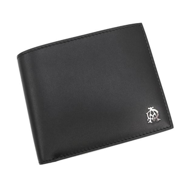 【送料無料】【中古】ダンヒル 2つ折財布 【Sランク】