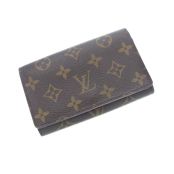 【中古】ルイヴィトン モノグラム ファスナー付財布14.5 M61730【Bランク】