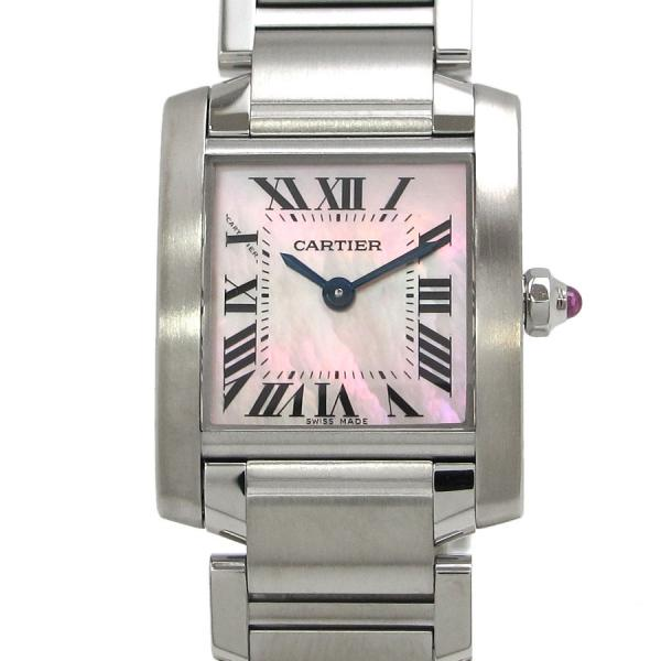 カルティエ タンクフランセーズSM W 20×H 25mm W51028Q3 レディース 腕時計 AランクRjA5L4