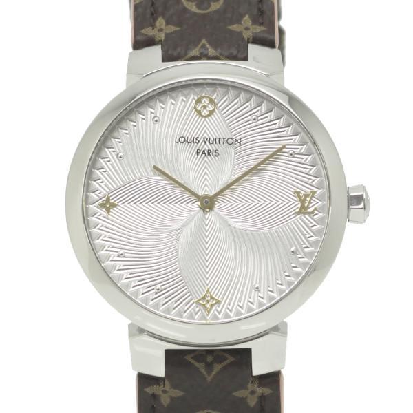 ルイヴィトン タンブールスリム QA015 レディース 腕時計【Aランク】【中古】
