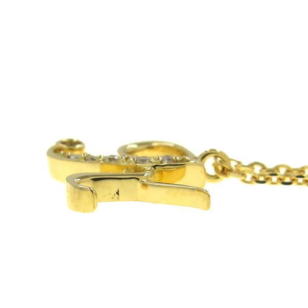 ヴァンドーム イニシャルダイヤネックレス K無料ギフトラッピングAランクxCBode