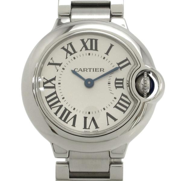 ブランド販売なら質屋さのや バッグ 時計 宝石 古着 毛皮 100%品質保証 雑貨の通販サイト カルティエ レディース 28mm W69101Z4 中古 Aランク バロンブルーSM SALE開催中 腕時計
