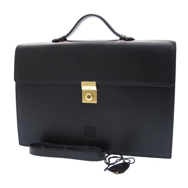 【送料無料】【中古】ロエベ 2WAYビジネスバッグ 【Bランク】