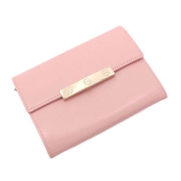 【送料無料】【中古】カルティエ ラブコレクション・財布 【Bランク】