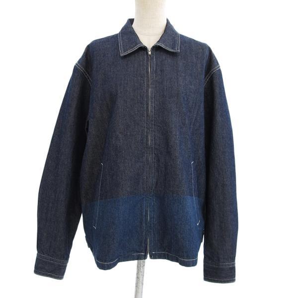【送料無料】【中古】コムデギャルソン メンズデニムジャケット 【Bランク】