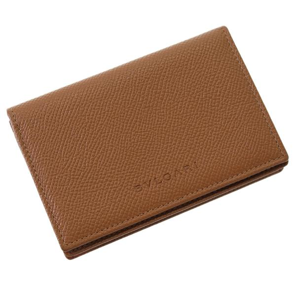 【送料無料】【中古】ブルガリ カードケース 【Sランク】