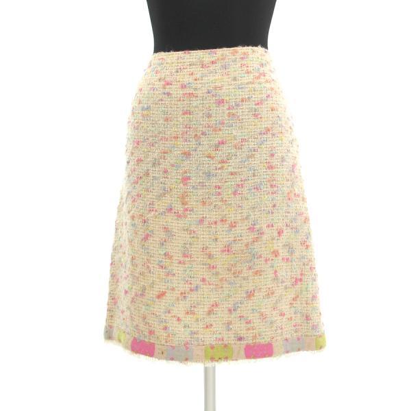 【スーパーセール限定特別価格商品!】【中古】シャネル 04Aスカート 【Bランク】
