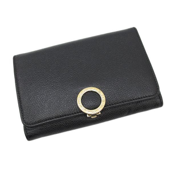 【送料無料】【中古】ブルガリ 3つ折財布 【Bランク】