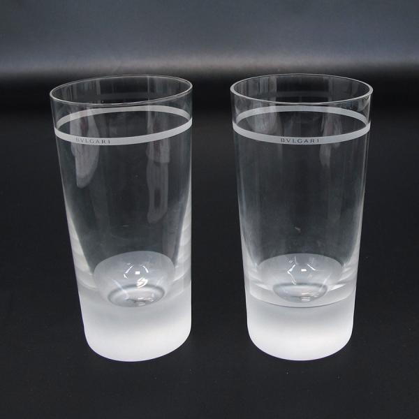 【送料無料】【中古】ブルガリ ローゼンタール・グラス×2 【Aランク】