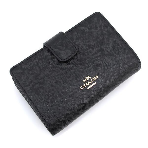 コーチ 2つ折財布 F54010【Sランク】【中古】