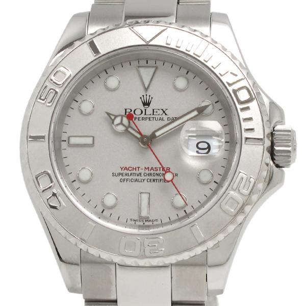【送料無料/新品】 ロレックス ヨットマスターロレジウム 16622 メンズ 腕時計【Aランク】(), 雪印パーラー 6d1e3aa1
