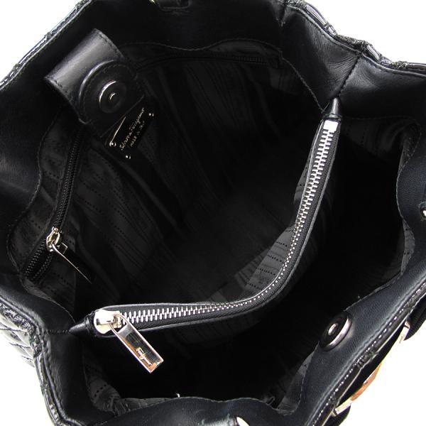 3bfcb1cb5990 BVLGARI ブルガリ アスコットバ ショルダーバッグ 鞄 革 レザーバッグ ブラック 黒 black かばん カバン BAG ブランド レディース  貝塚店 368321 【中古】 RK268HI,