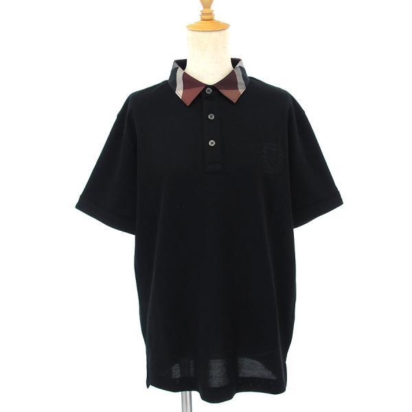 ブラックレーベルクレストブリッジ ポロシャツ 【Aランク】【中古】