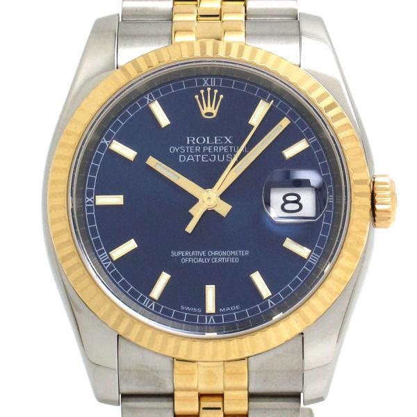 ロレックス デイトジャスト 116233 メンズ 腕時計【Aランク】【中古】