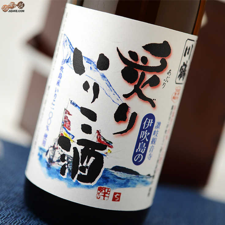 川鶴 炙りいりこ酒 全品最安値に挑戦 新色 1800ml