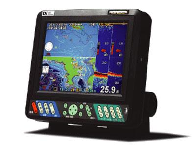 ホンデックス(HONDEX) 8.4型カラー液晶プロッターデジタル魚探 HE-81GP-Di(GPSアンテナ内蔵)