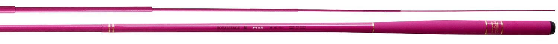 宇崎日新(NISSIN) 清流竿 ROYAL STAGE 鼓 ピンク 硬調 4.5m《限定モデル》  【KRY】