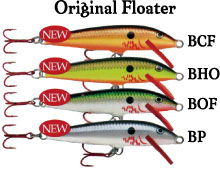 rapara(Rapala)Original Floating 11cm color=BCF