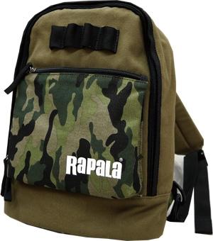 ラパラ(Rapala) Color Combination Canvas One Shoulder Bag=Green&Camouflage