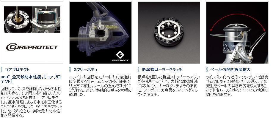 1000 S [STRADIC, Shimano (SHIMANO) spinning reel stradick