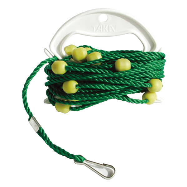 タカ産業 TAKA SANGYO ホルダー巻PPすべらんロープ 店舗 お金を節約 4mm×8m ロープ-M