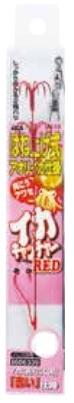 5枚セット カツイチ KATSUICHI アオリイカ仕掛け 世界の人気ブランド IS-13 送料0円 katu-ao kset0602 イカキャッチャーRED