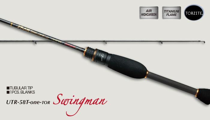 """ティクト(TICT) SRAM [スラム] UTR-58T-one-TOR """"Swingman"""" (アジング) (t-rod) 【TICT】 (Aji-Mebaru)    【竿】"""