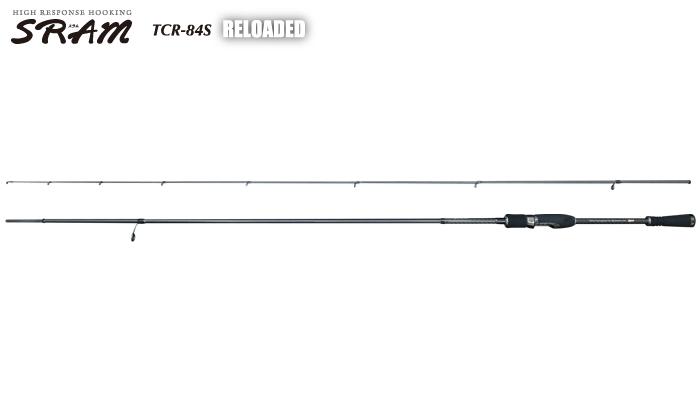 ティクト(TICT) SRAM [スラム] TCR-84S RELOADED  (アジング) (t-rod) (Aji-Mebaru)    【竿】