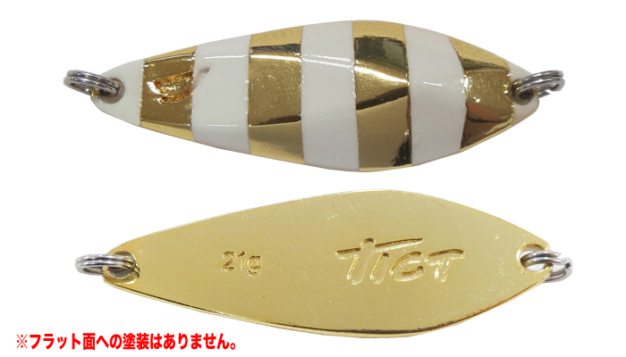 tikuto(TICT)  metarujigumeteru·小(附带单人吊钩)1.5g斑马黄金(t-etc)