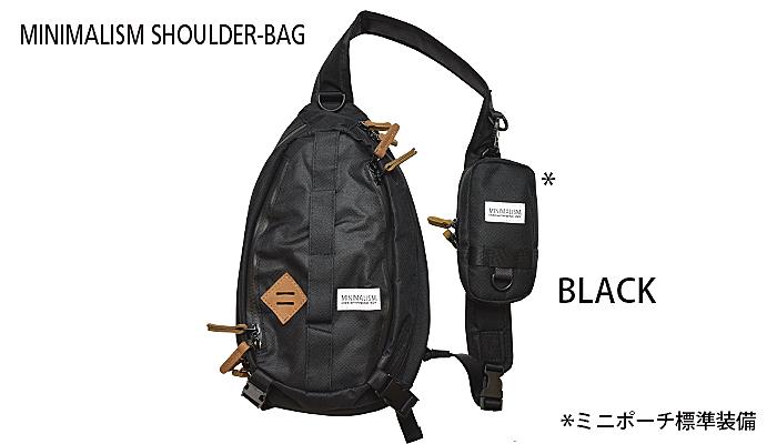 Tikt Tict Minimalism Shoulder Bag Black T Etc New201711