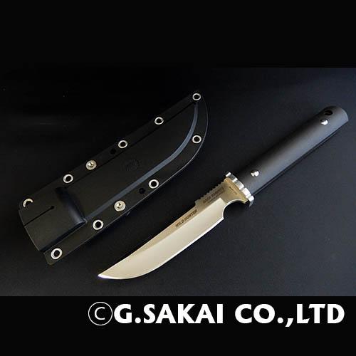 ジーサカイ(G.SAKAI) サビナイフ5 ワイルドハンター ブラック