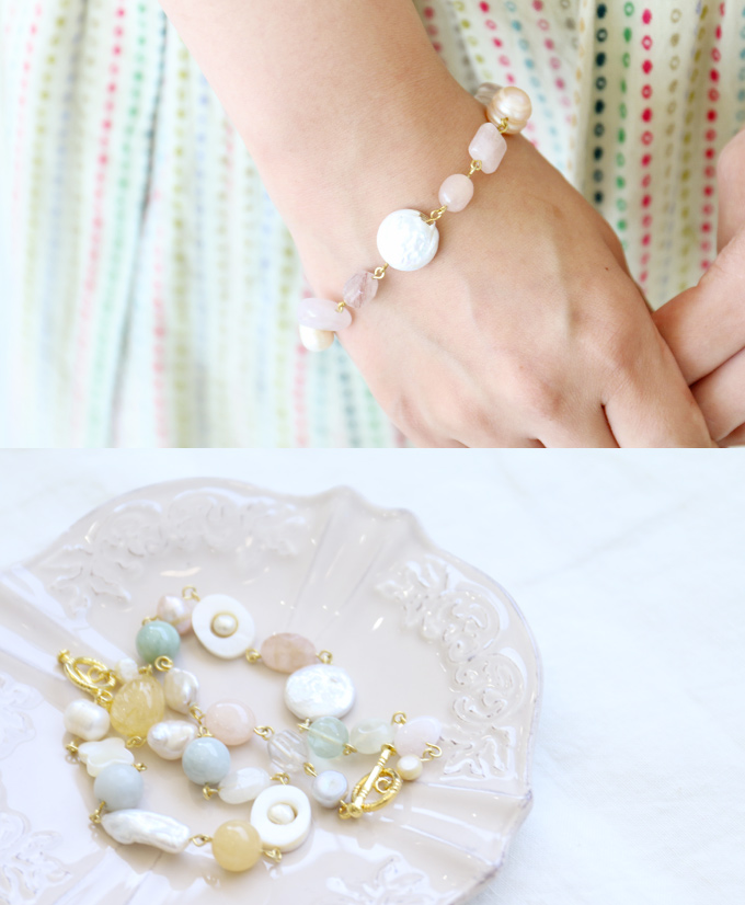 ☆Sale limited number of on bracelet September 2 to enjoy e-mail magazine-limited plan ☆ fresh and young natural stone than 22:00!