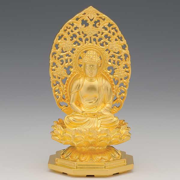純金製 阿弥陀如来像 座像