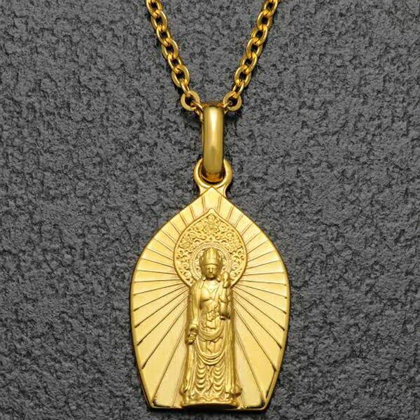 K18 聖観音ペンダント 仏像
