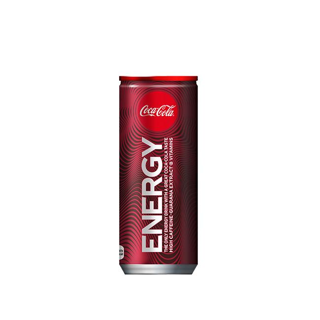 コカ コーラから爽快エナジードリンク誕生 コカコーラ 18%OFF エナジー 炭酸飲料 缶 メーカー直送 250ml 初売り 全国送料無料 12ケース エナジードリンク 60本入り