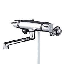 KVK サーモシャワー水栓 KF800WT 240mmパイプ付き 寒冷地対応品