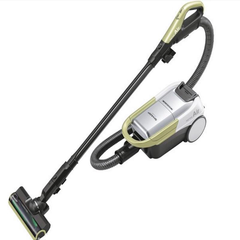 シャープ コードレスキャニスター 紙パック式掃除機 イエロー EC-AP500-Y(1台入)