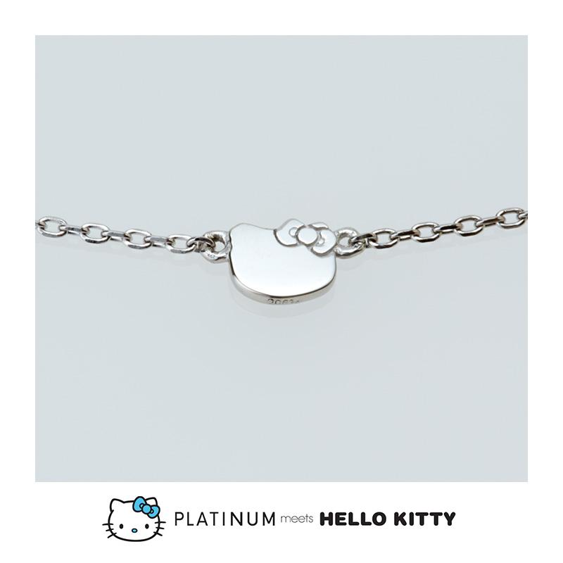 【Hello Kitty】 プラチナ ミーツ ハローキティ ブレスレット
