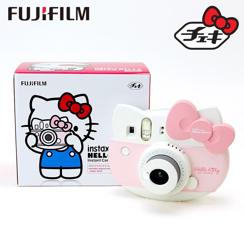 ハローキティ 富士フイルム インスタントカメラ【チェキ】「instax mini」 ピンク