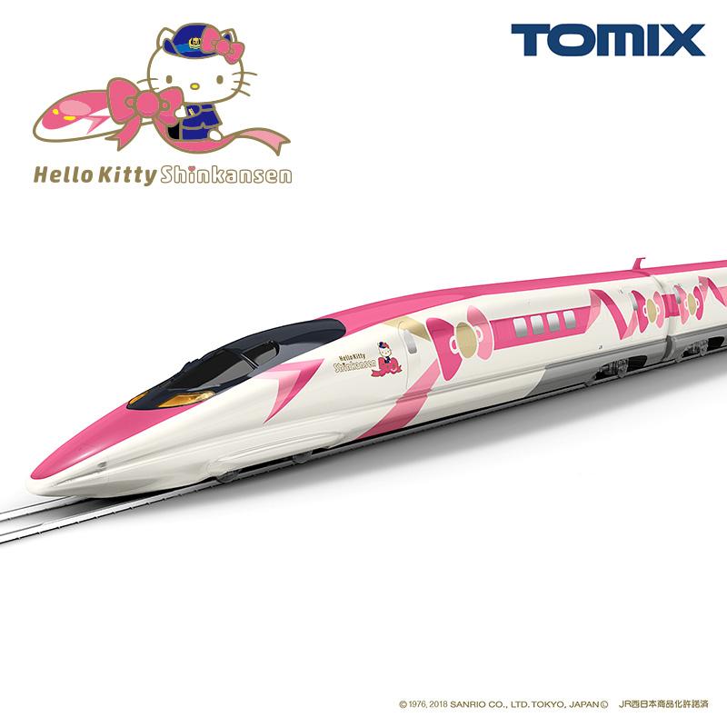 JR 500-7000系山陽新幹線(ハローキティ新幹線)セット